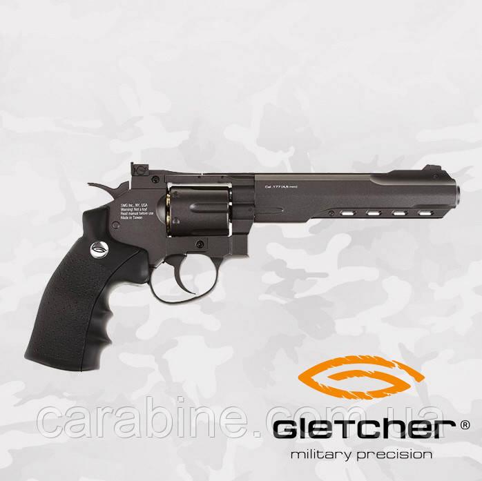 Пневматический револьвер Gletcher SW B6 Smith & Wesson