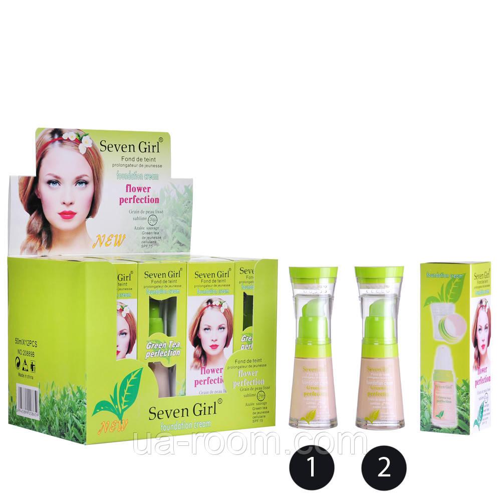 Тональная основа Seven Girl Green Tea perfection 20889B