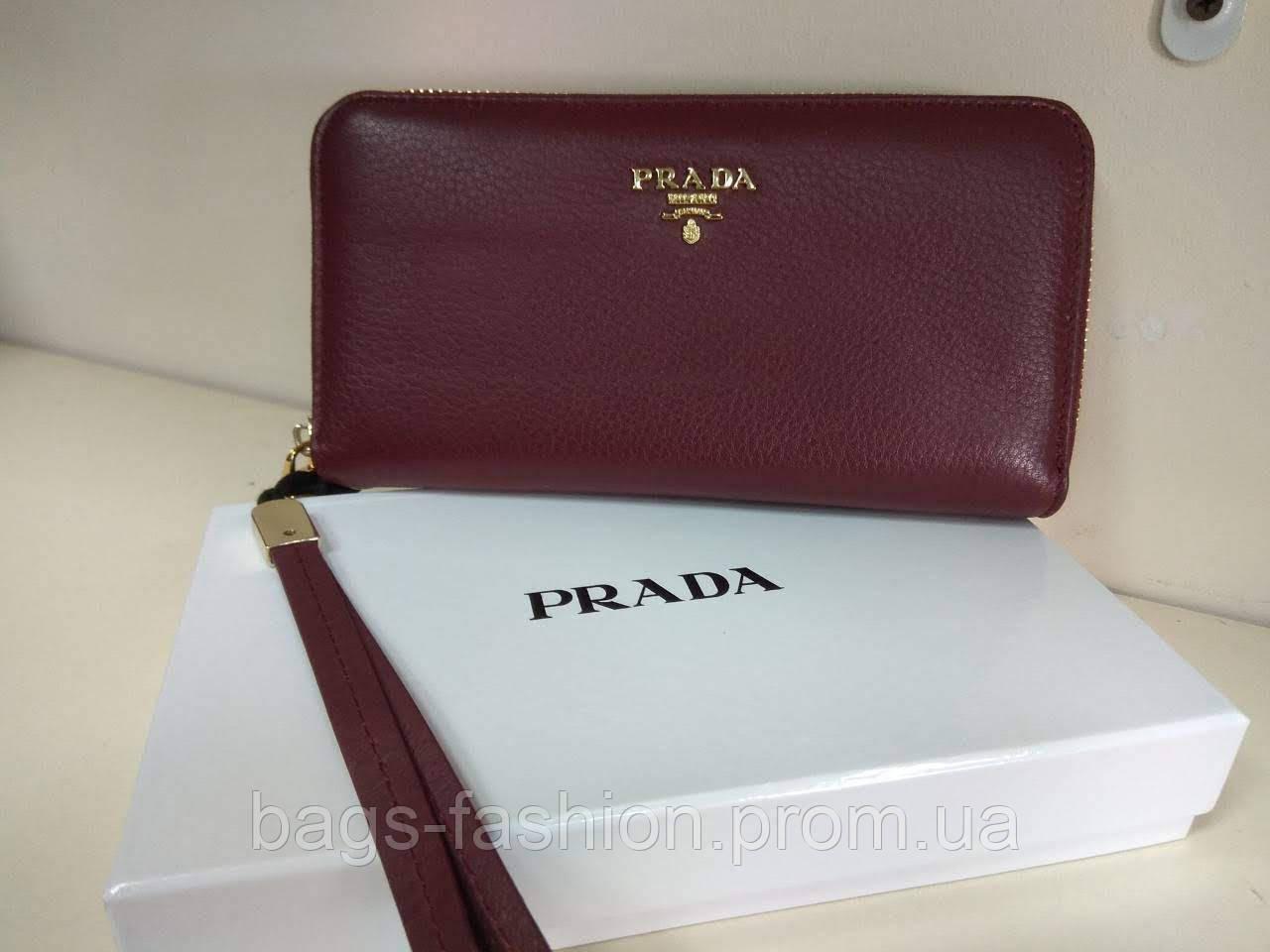 860ae49dab58 кошелек Prada натуральная кожа реплика в категории кошельки и