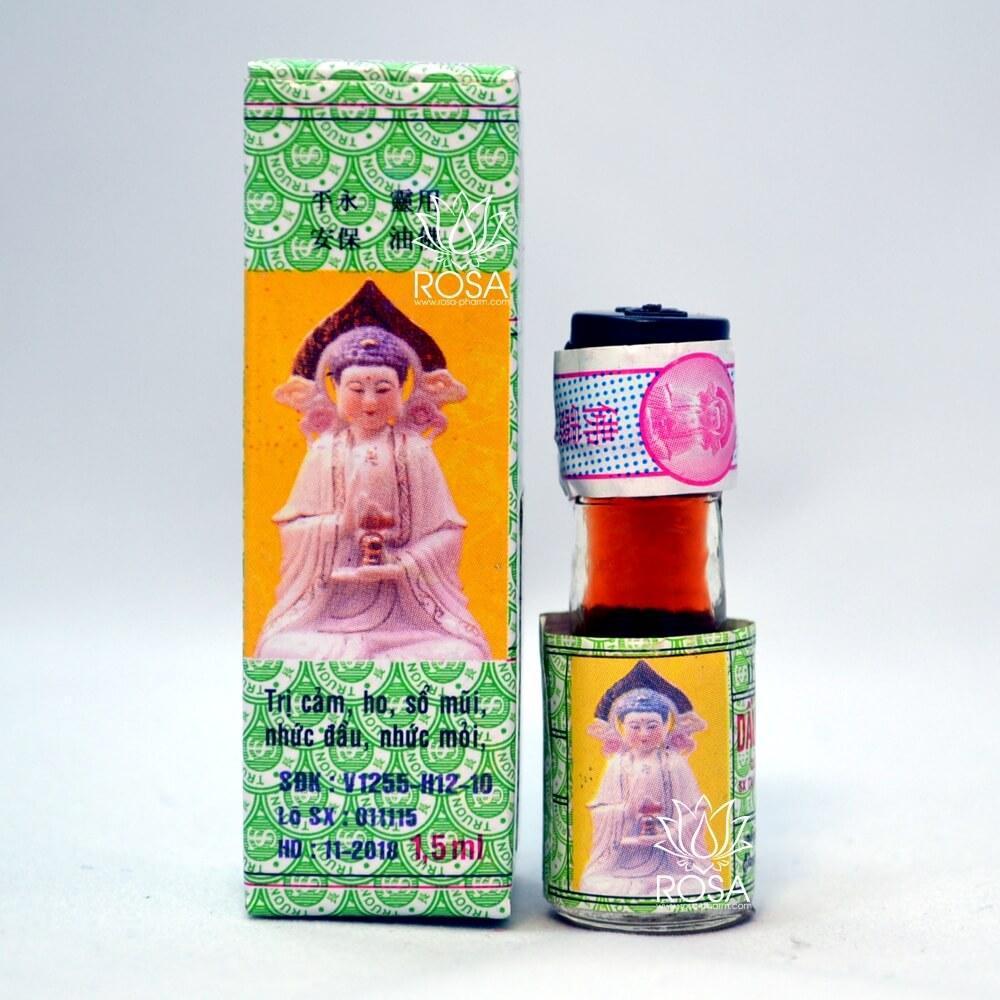 Бальзам Dau Phat Linh жидкая звездочка (Truong Son), 1,5 мл