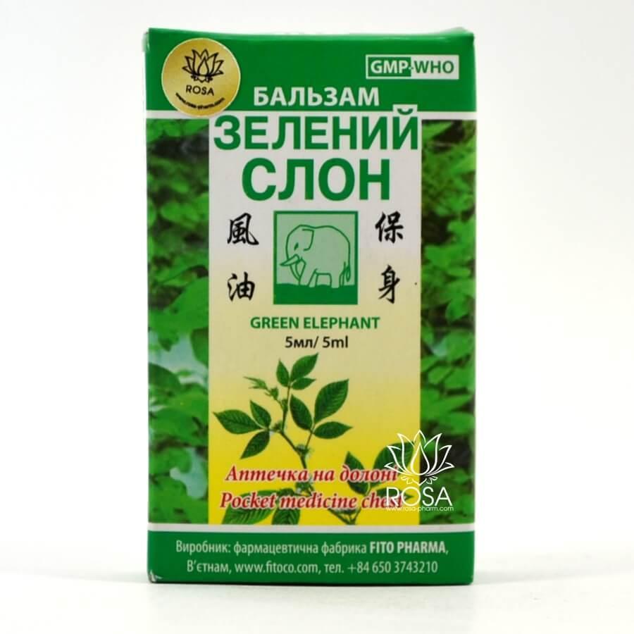 Бальзам Зеленый слон Fito Pharma
