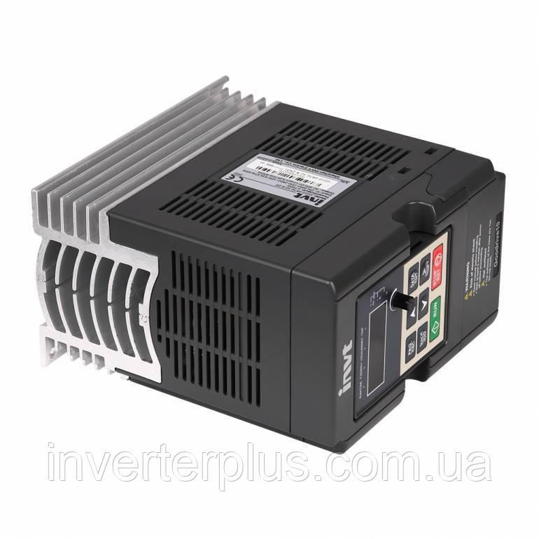 0,75кВт/220В; 4,2А. Частотний перетворювач INVT GD10-0R7G-S2-B