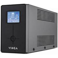 Источник бесперебойного питания Vinga LCD 800VA metal case (VPC-800M)