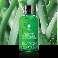 Масло для массажа и ванны Алоэ Вера и Панданус (Aloe Vera & Pandanus Massage & Bath Oil), 150 мл