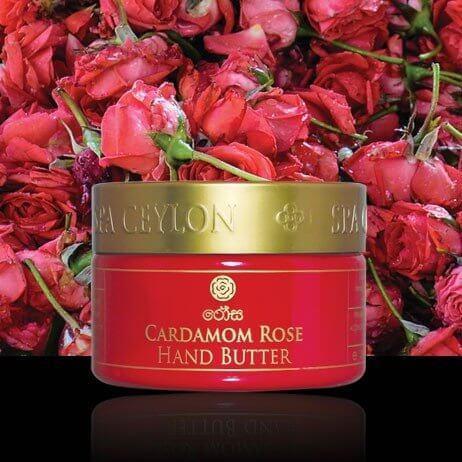Масло для рук Кардамон и Роза (Cardamom Rose Hand Butter, Spa Ceylon)