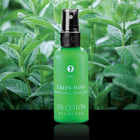 Освежающий спрей для ног Зеленая Мята (Green Mint Refreshing Foot Mist, Spa Ceylon)