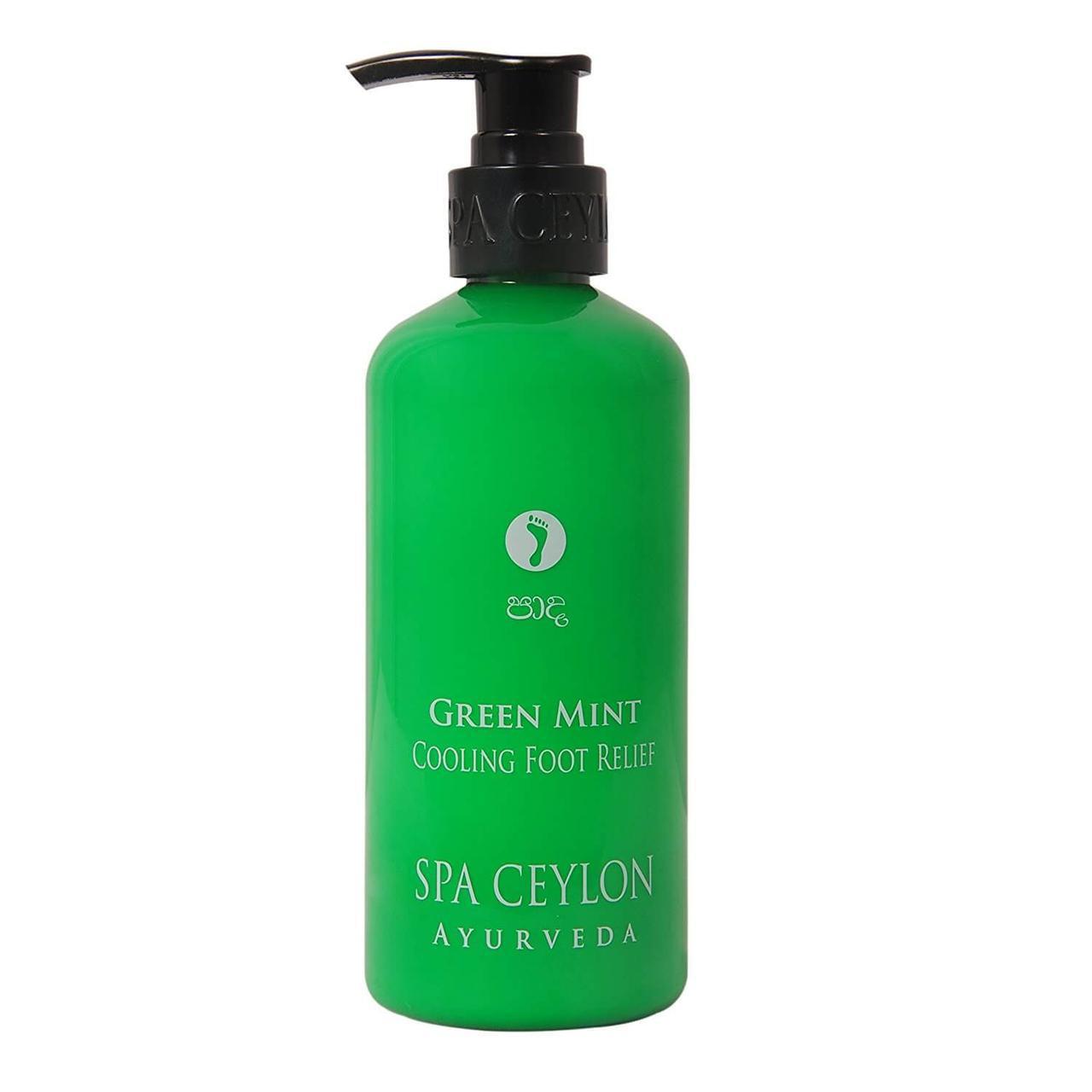 Охлаждающий бальзам для ног Зеленая Мята (Green Mint Cooling Foot Relief, Spa Ceylon), 300 мл