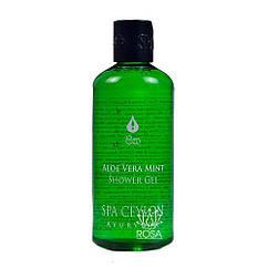 Гель для душу і ванни Алое віра і М'ята (Aloe Vera Mint Bath and Shower Gel, Spa Ceylon), 300 мл