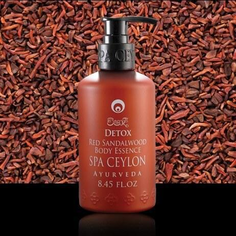 Красный сандал. Эссенция для тела Детокс (Detox Red Sandalwood Body Essence, Spa Ceylon), 250 мл