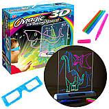 Магічна 3D дошка для малювання Magic Drawing Board   Дошка для малювання 3д, фото 7