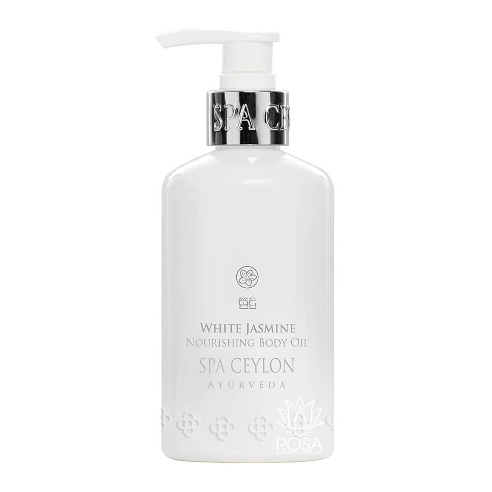Питательная масло для тела Белый Жасмин (White Jasmine Nourishing Body Oil, Spa Ceylon)
