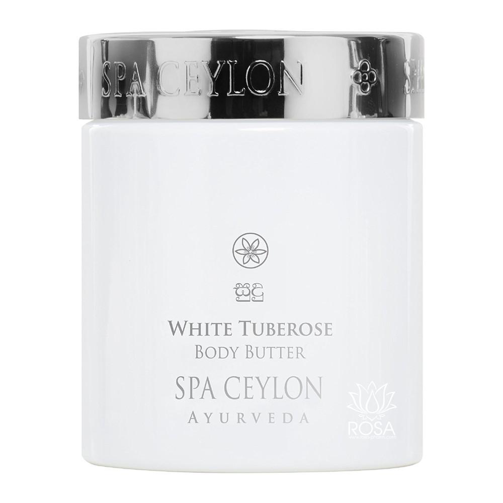 Масло для тела Белая тубероза (White Tuberose Body Butter, Spa Ceylon)