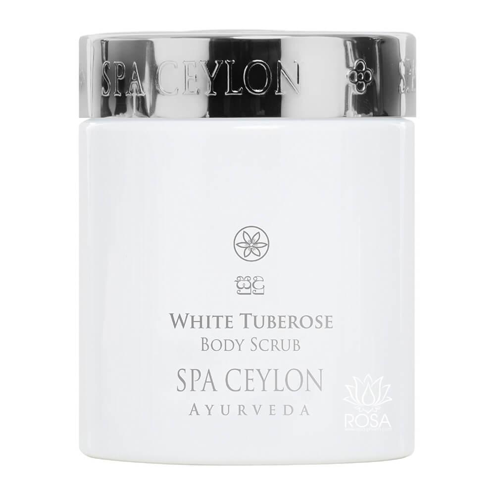 Скраб для тела Белая тубероза (White Tuberose Body Scrub, Spa Ceylon), 200 грамм