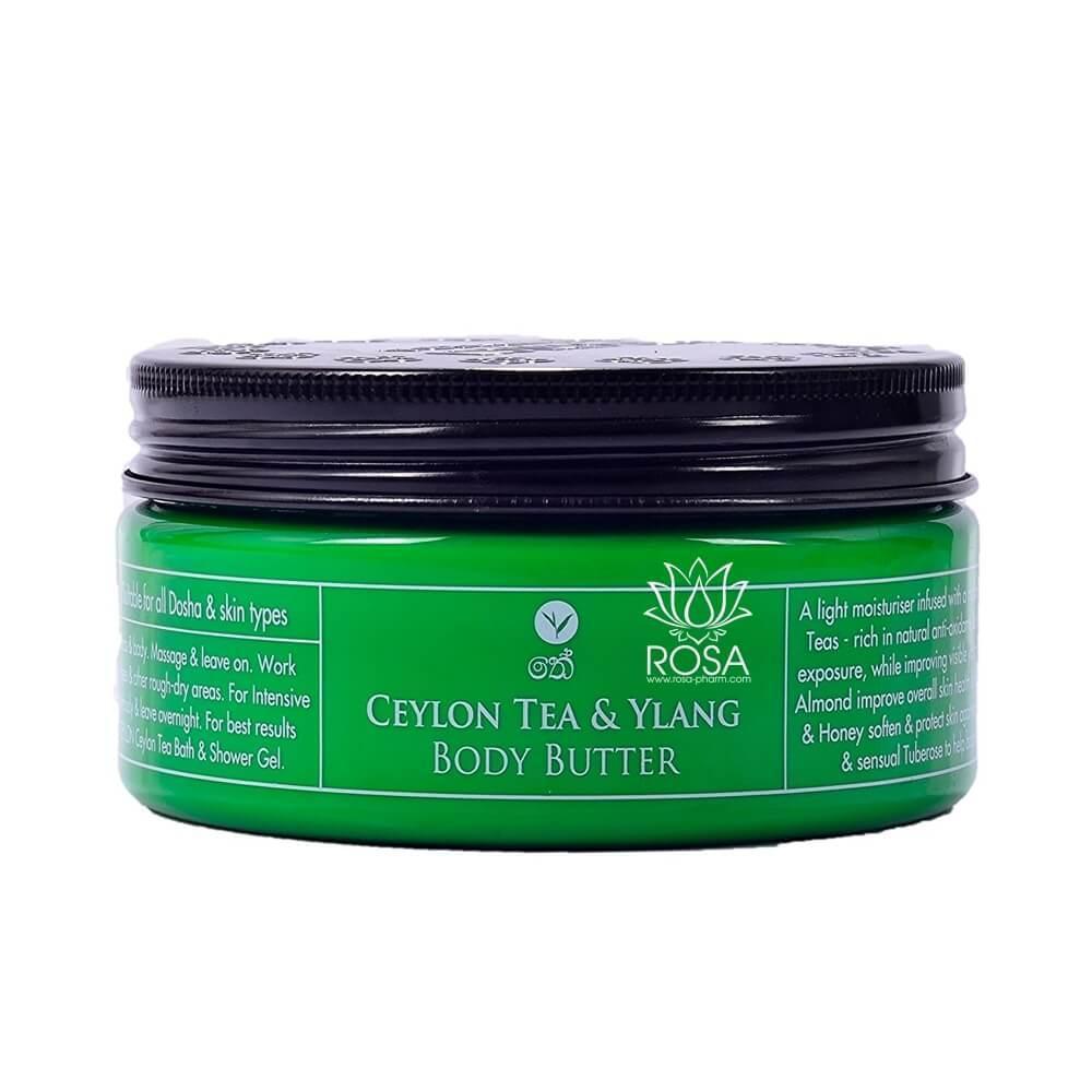 Масло для тіла Цейлонський чай і Іланг-Іланг (Ceylon Tea & Ylang Body Butter, Spa Ceylon)