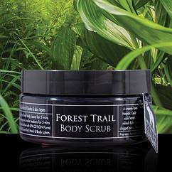 Скраб для тела Лесные тропы (Forest Trail Body Scrub, Spa Ceylon), 225 грамм