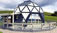 Купольный дом. Проект 3V D11