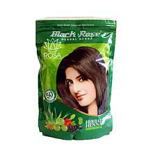 Хна для волос (Black Rose Herbal Henna, Kali Mehandi) с аюрведическими травами и плодами, 140 грамм