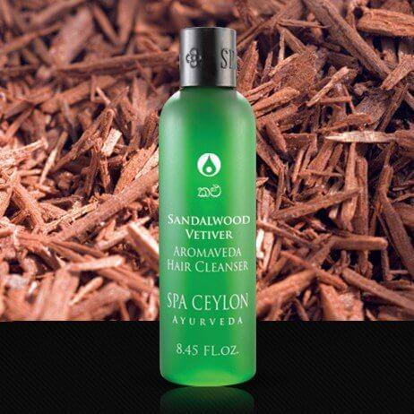 Шампунь для волос Сандал и Ветивер (Sandalwood Vetiver Hair Cleanser, Spa Ceylon)