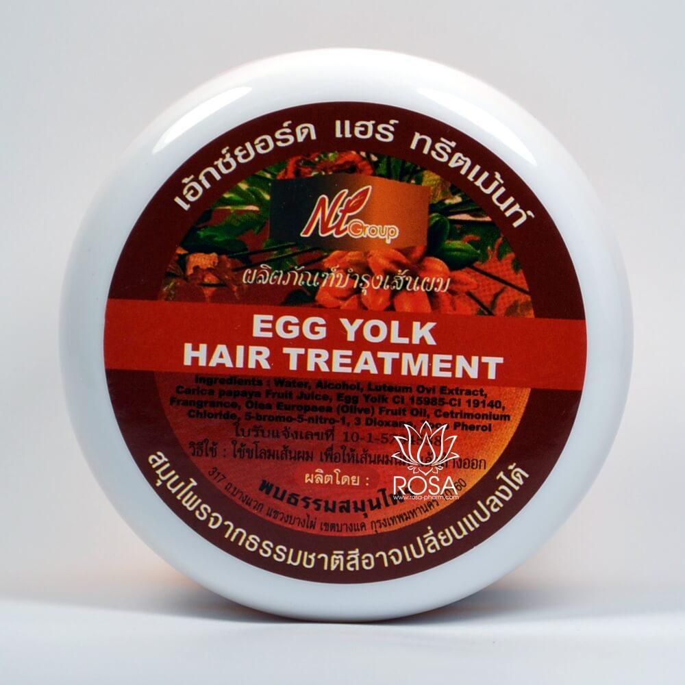 Восстанавливающая маска Папайя   Яичный желток (Egg Yolk  Hair Treatment), 300 мл
