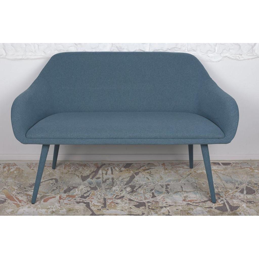 Maiorica (Майорка) кресло-банкетка текстиль бирюзовый