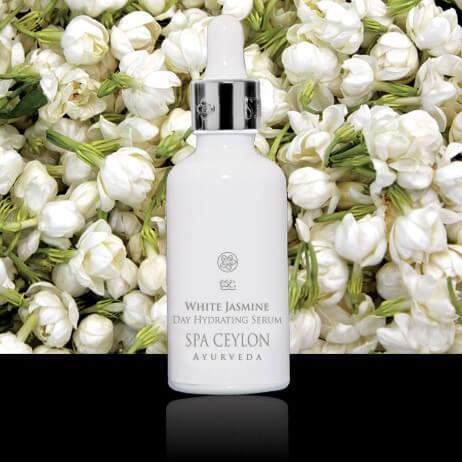 Дневная увлажняющая сыворотка Белый Жасмин (White Jasmine Day Hydrating Serum, Spa Ceylon)