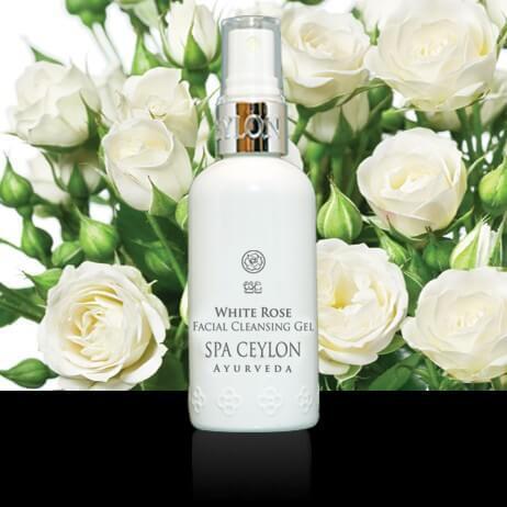 Очищающий гель для лица Белая Роза (White Rose Facial Cleansing Gel, Spa Ceylon)