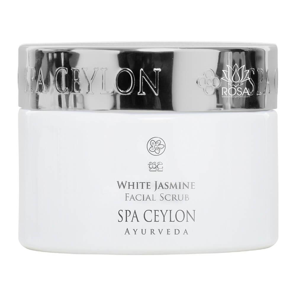 Скраб для лица Белый Жасмин (White Jasmine Facial Scrub, Spa Ceylon)
