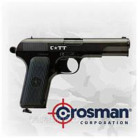 Пневматический пистолет Crosman C-TT Тульский Токарев ТТ газобаллонный CO2 , фото 1