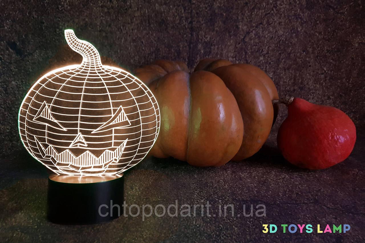 """3D светильник """"Хэллоуин"""" 3DTOYSLAMP - Chtopodarit.in.ua - интернет-магазин интересных подарков в Киеве"""
