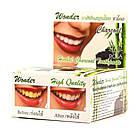 Круглая Зубная паста с углем бамбука (Wonder charcoal toothpaste, Siam Nature), 25 грамм, фото 3