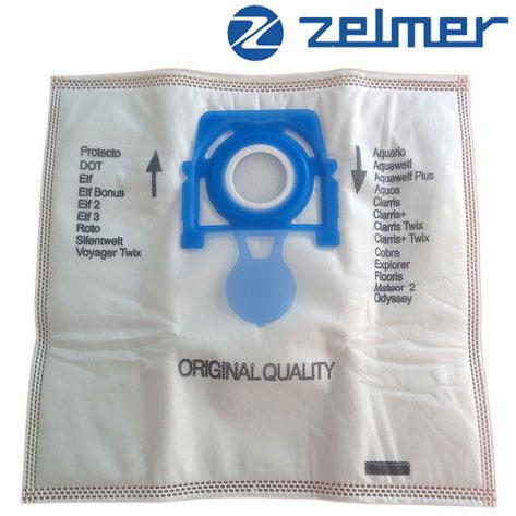 ➜ Мешки для пылесоса Zelmer + Hepa фильтр в подарок (оригинал)
