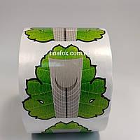 Формы для наращивания ногтей 500 шт Лист