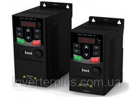 0,4кВт/220В; 2,5А. Частотний перетворювач INVT GD20-0R4G-S2
