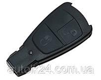 Корпус смарт ключа 2 кнопки для Mercedes Benz W210, W220, E-class (велика рибка)