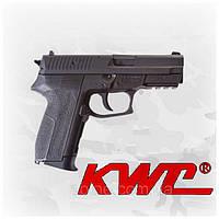 Пневматический пистолет KWC Sig Sauer 2022 KM47DHN Зиг Зауэр газобаллонный CO2, металлический затвор, фото 1