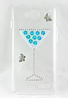 "Чехол накладка на LG L90 D410 Dual ручной работы ""Drink"""