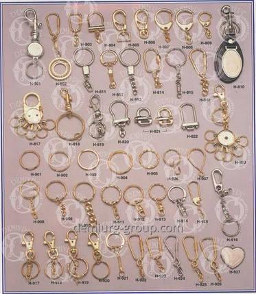 Фурнитура для комплектации брелоков (кольца, карабины и прочее), фото 2