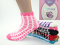 "Теплые женские носки ""Травка"" 37-42"
