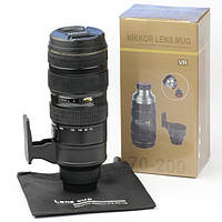 Термос-объектив и кружка-объектив Nikon 70-200 мм., фото 1
