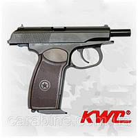 Пневматический пистолет KWC PM KMB-44 AHN Blowback Пистолет Макарова ПМ блоубэк газобаллонный CO2, фото 1