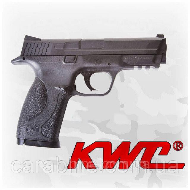 Пневматический пистолет KWC Smith & Wesson M&P40 KM48HN Смит и Вессон газобаллонный CO2