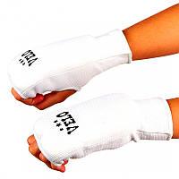 Накладки (перчатки) для карате VELO белые 018ULIZ-XL
