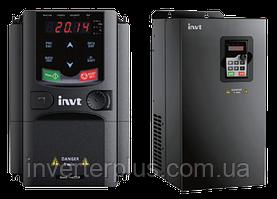 0,75кВт/380В; 2,5А.Перетворювач частоти INVT GD200A-0R7G-4