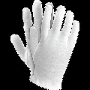 Защитные перчатки OX-UNDER W из хлопка OGRIFOX белого цвета . REIS