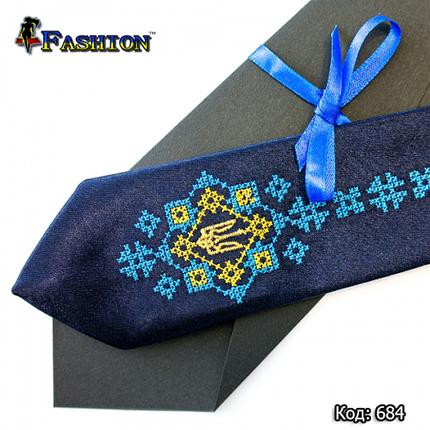 Детский вышитый галстук Николай, фото 2
