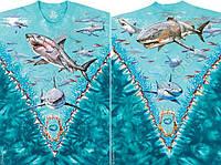 Футболки Liquid Blue GREAT WHITE SHARKS 11154