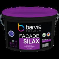 Силіконова фарба BARVIS для фасадів Facade Silax 10 л