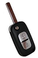 Корпус выкидного ключа  RENAULT Clio,Twingo 2 кнопки лезвие VA2