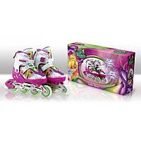 Ролики Disney Fairies M(35-38) RS0102