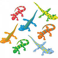 Набор игрушечных ящериц. MD16062 Melissa&Doug